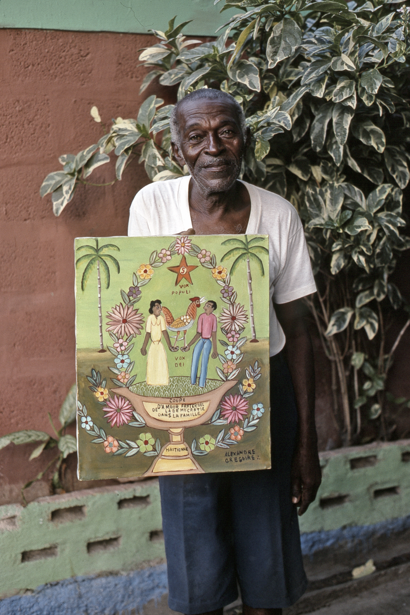 Alexandre Gregoire. Port-au-Prince, 1995 (Photograph © Anthony Hart Fisher 1995)