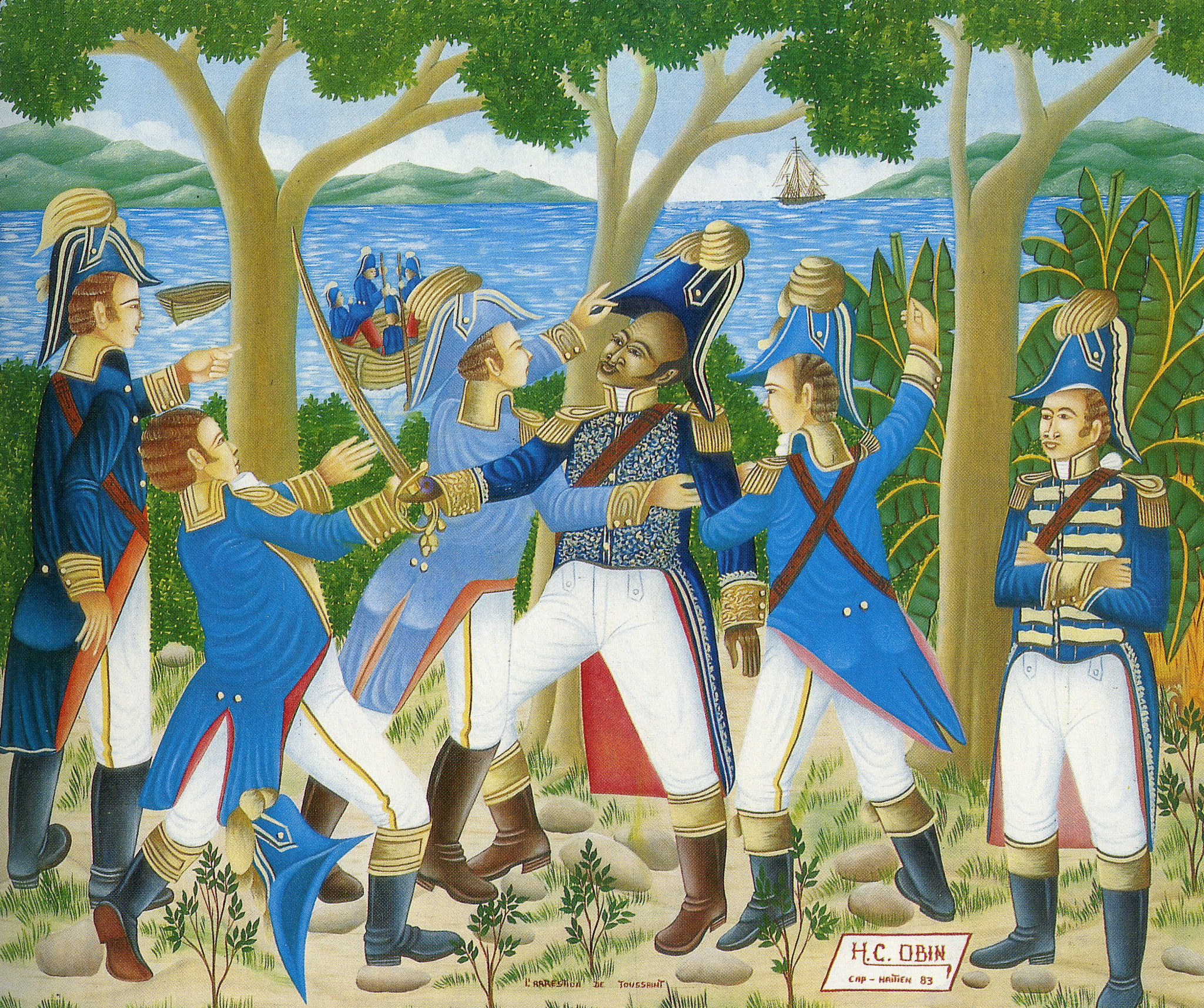 The arrest of Toussaint Louverture, 1983