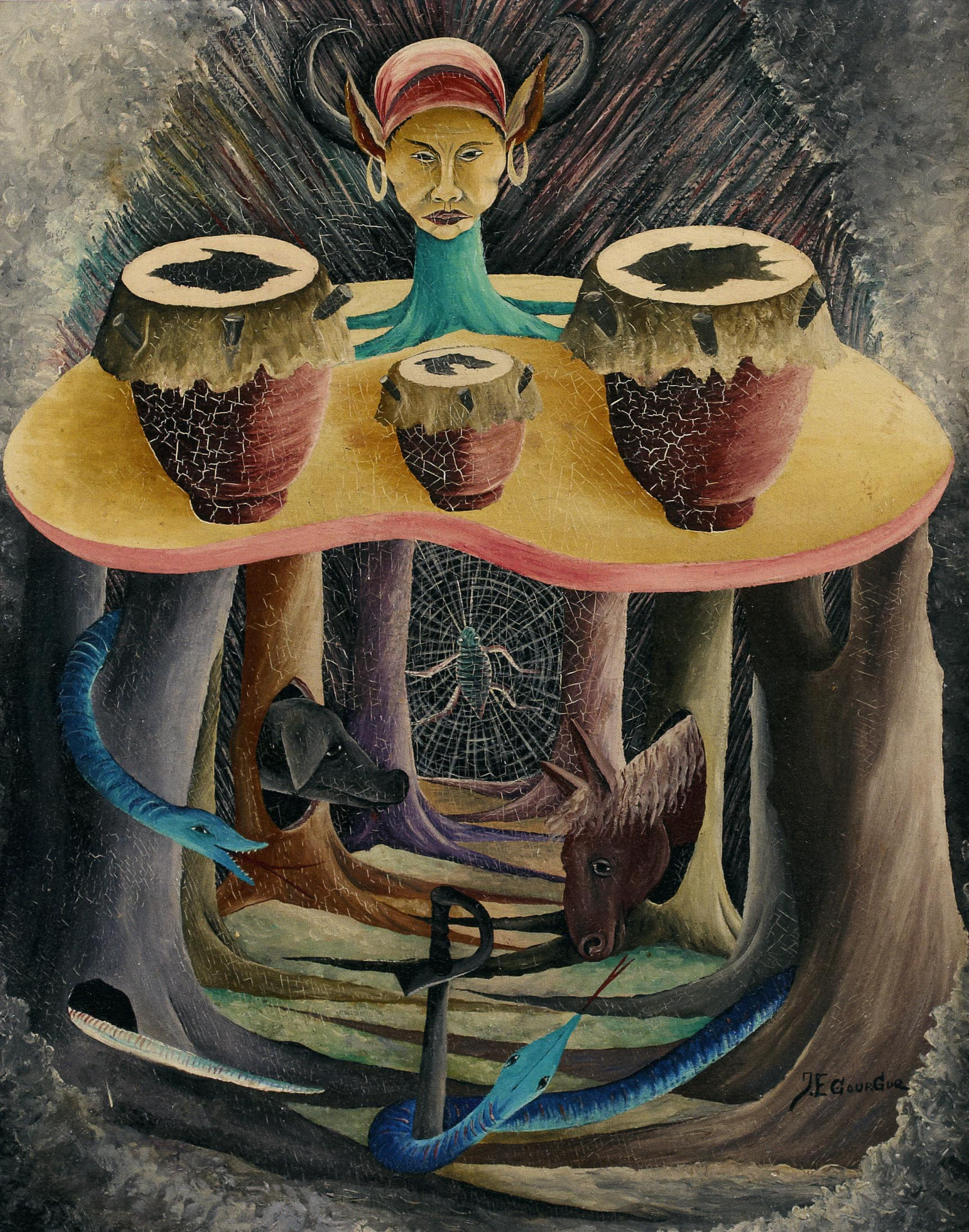 Three Drums, 1952