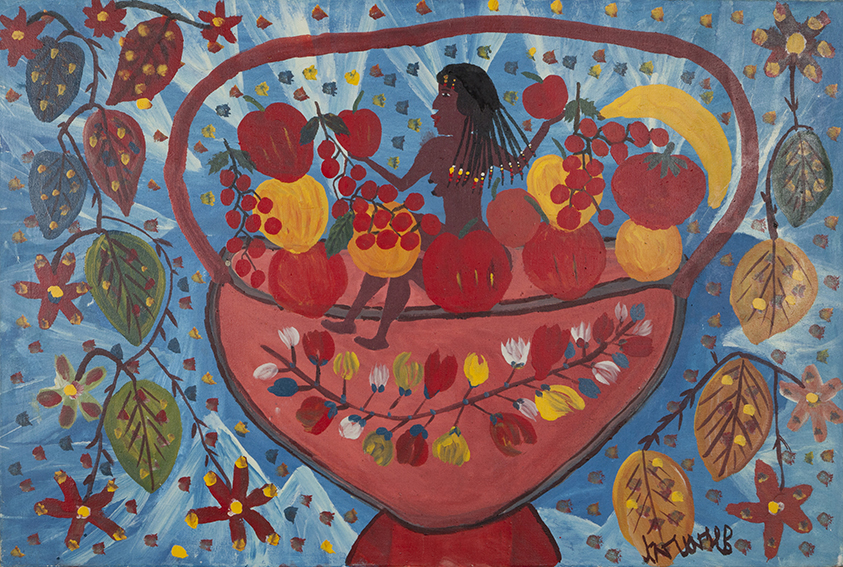 Untitled (Woman in Fruit Bowl), 1984
