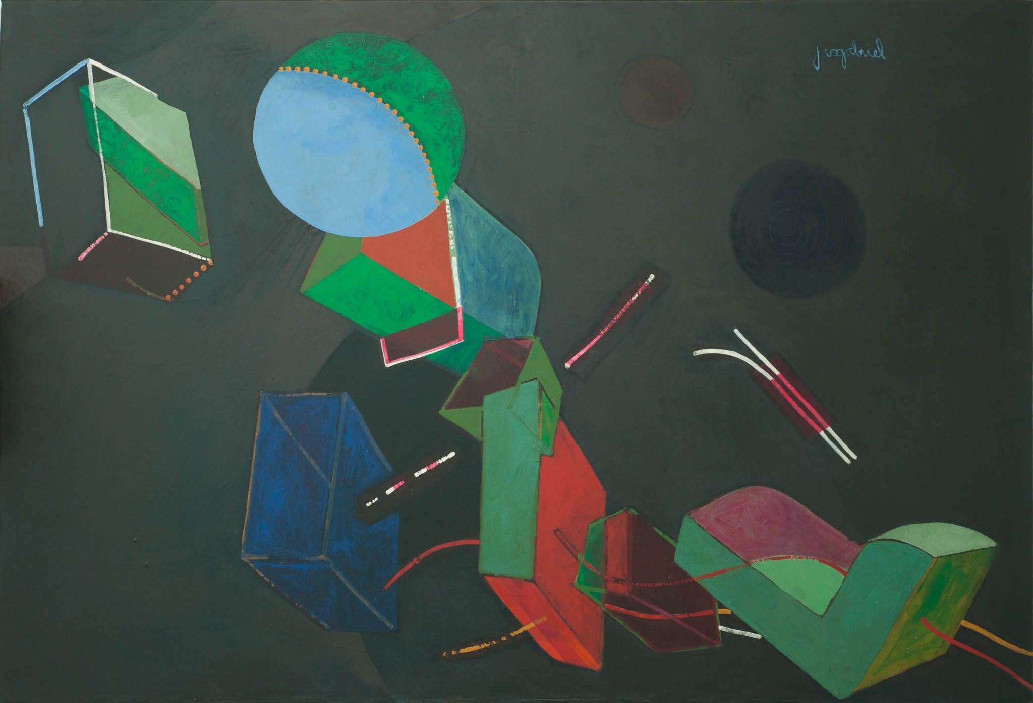 Abstract, 1970-80s