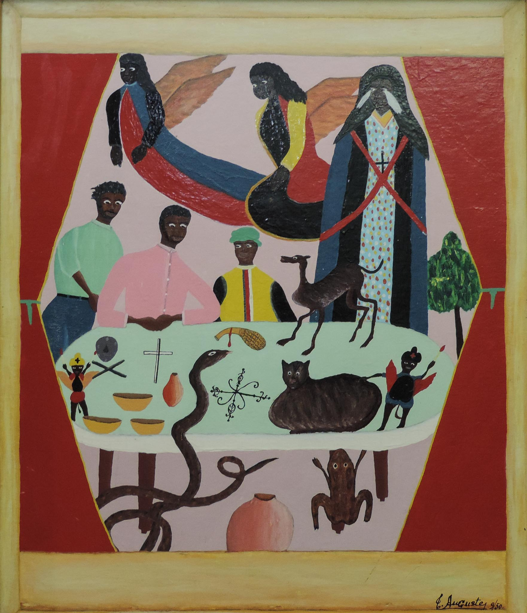 Vodou Table, 1950