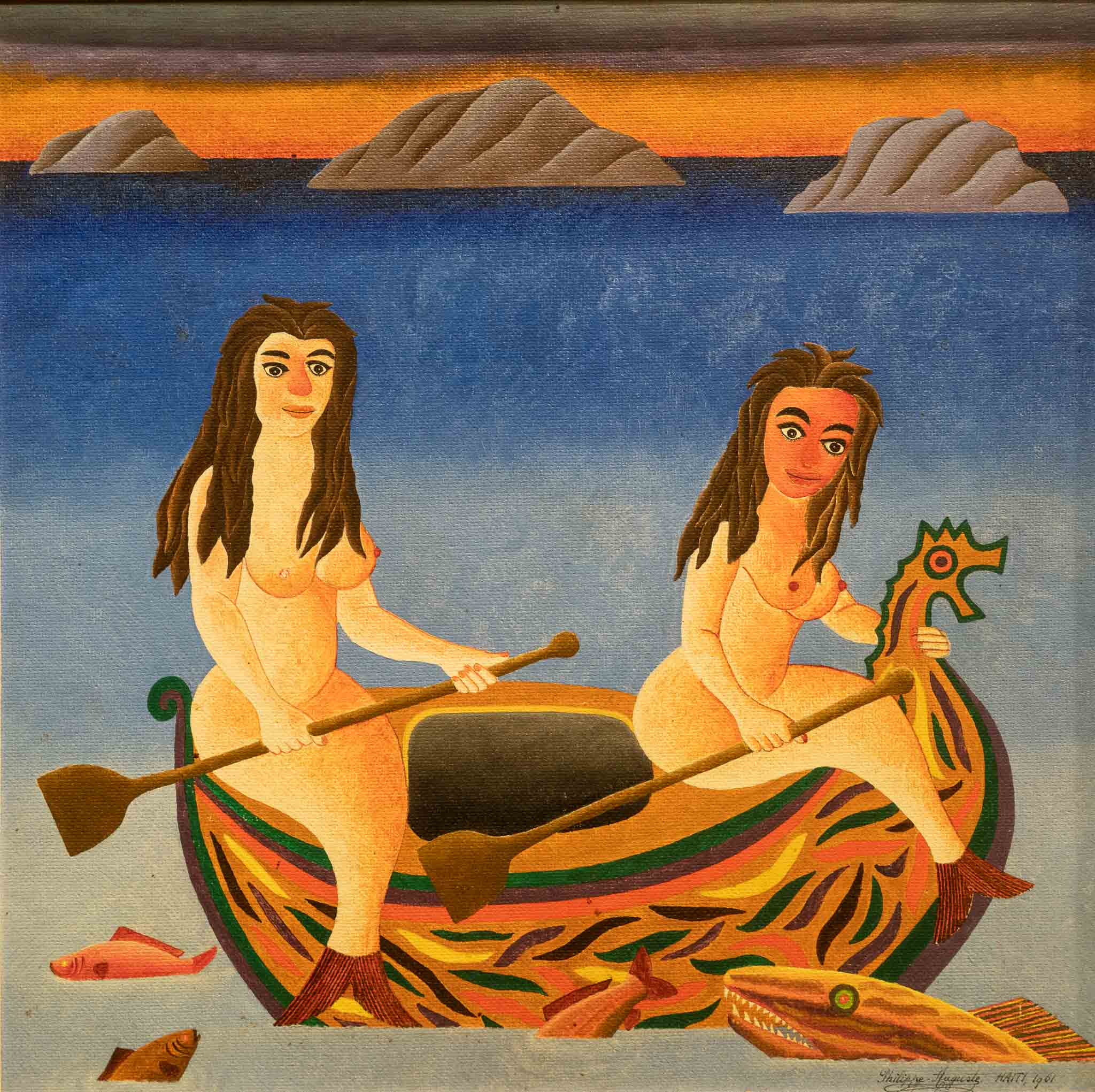 Mermaids in a Boat, 1965
