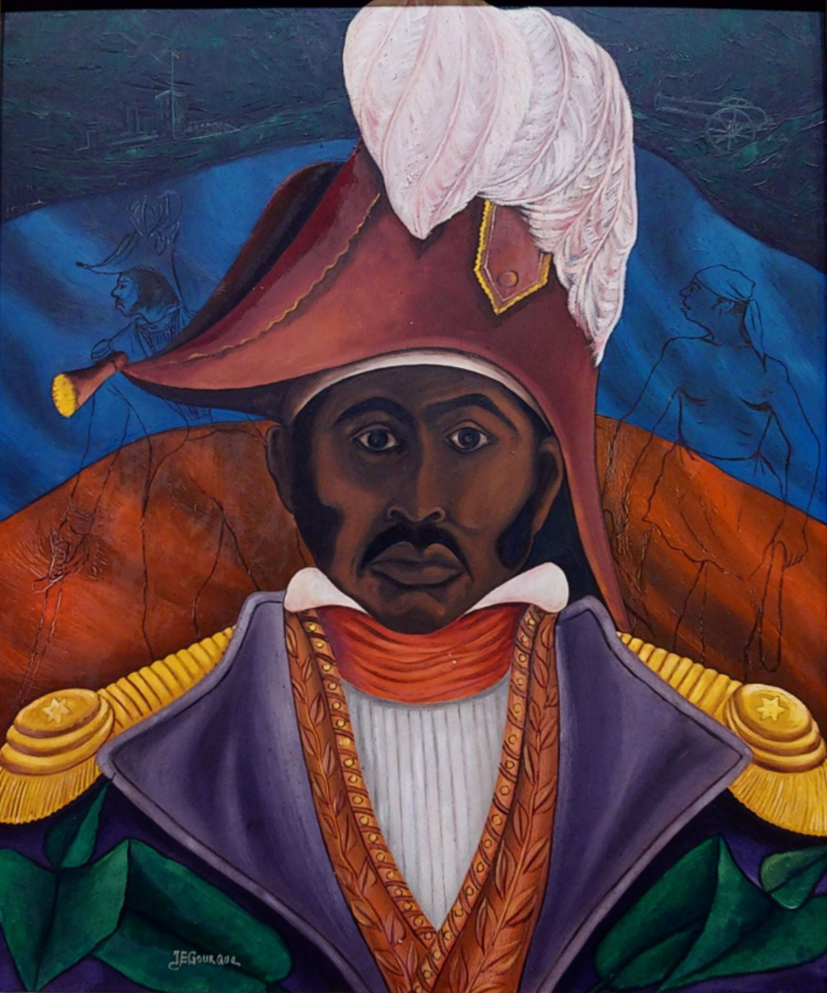 Portrait of Jean-Jacques Dessalines, n.d.
