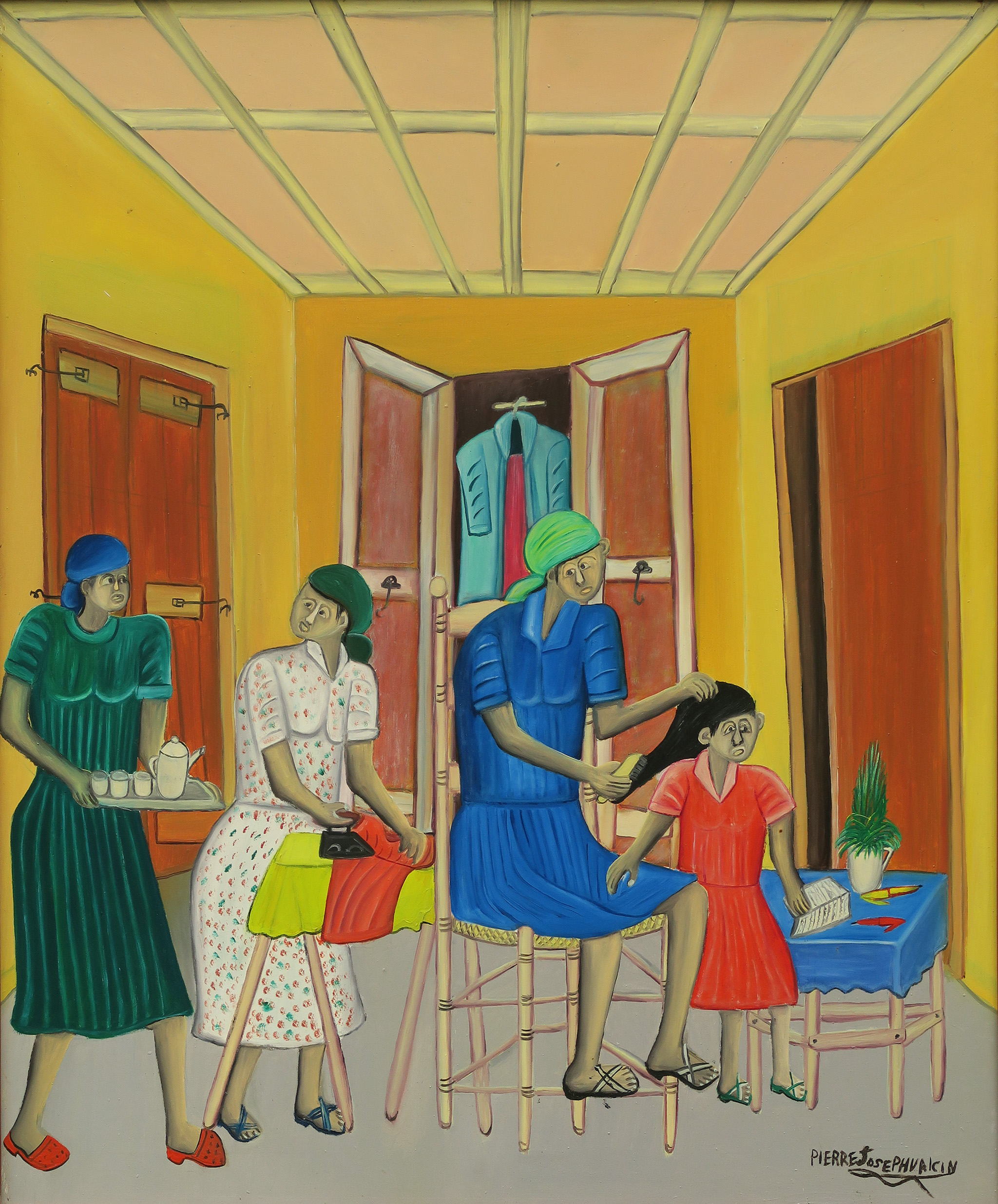 Untitled (Interior Domestic Scene), 1986