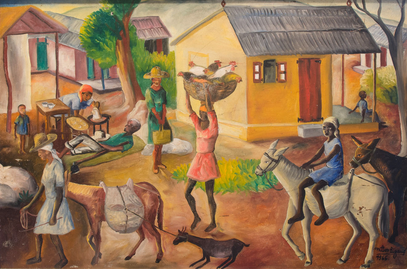 Leaving House for Market