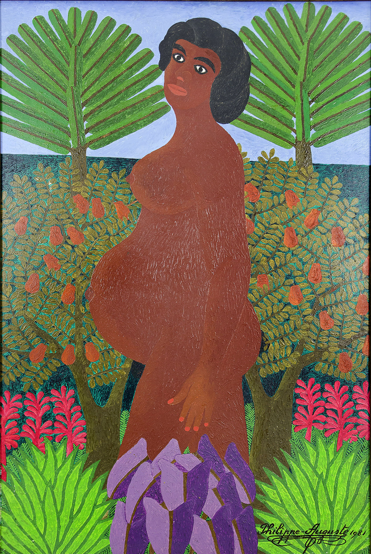 Untitled (Pregnant Woman), 1981