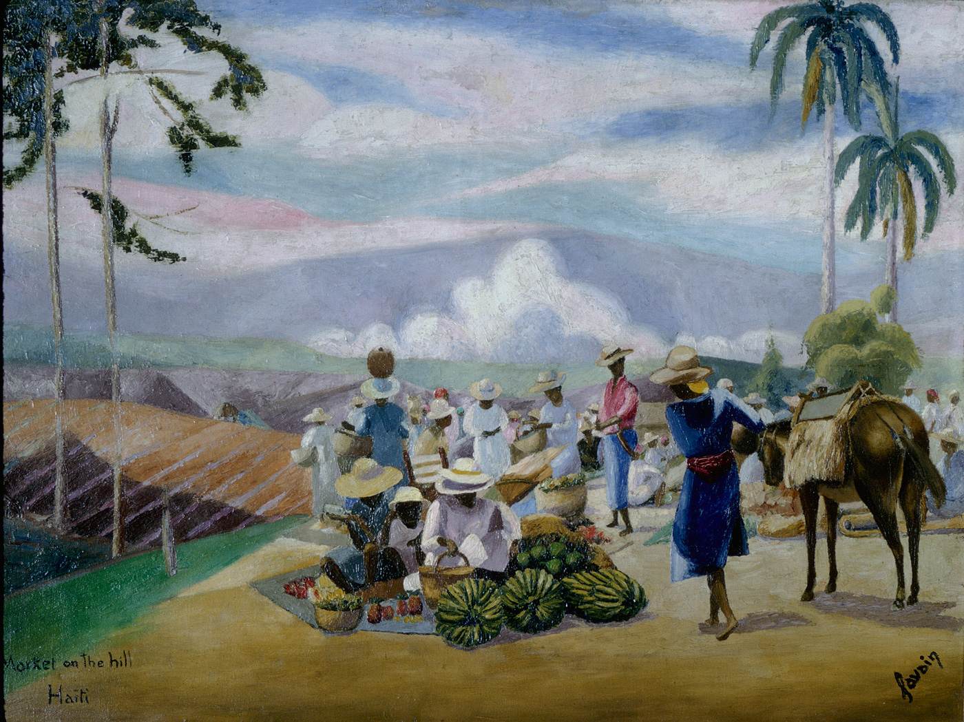 Market on the Hill, 1938