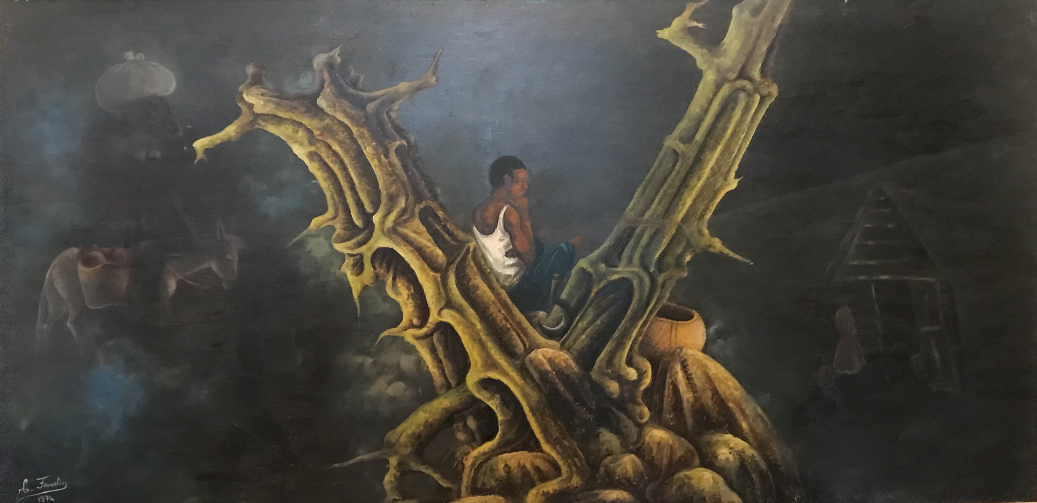 Man Dreaming in a Tree, 1974