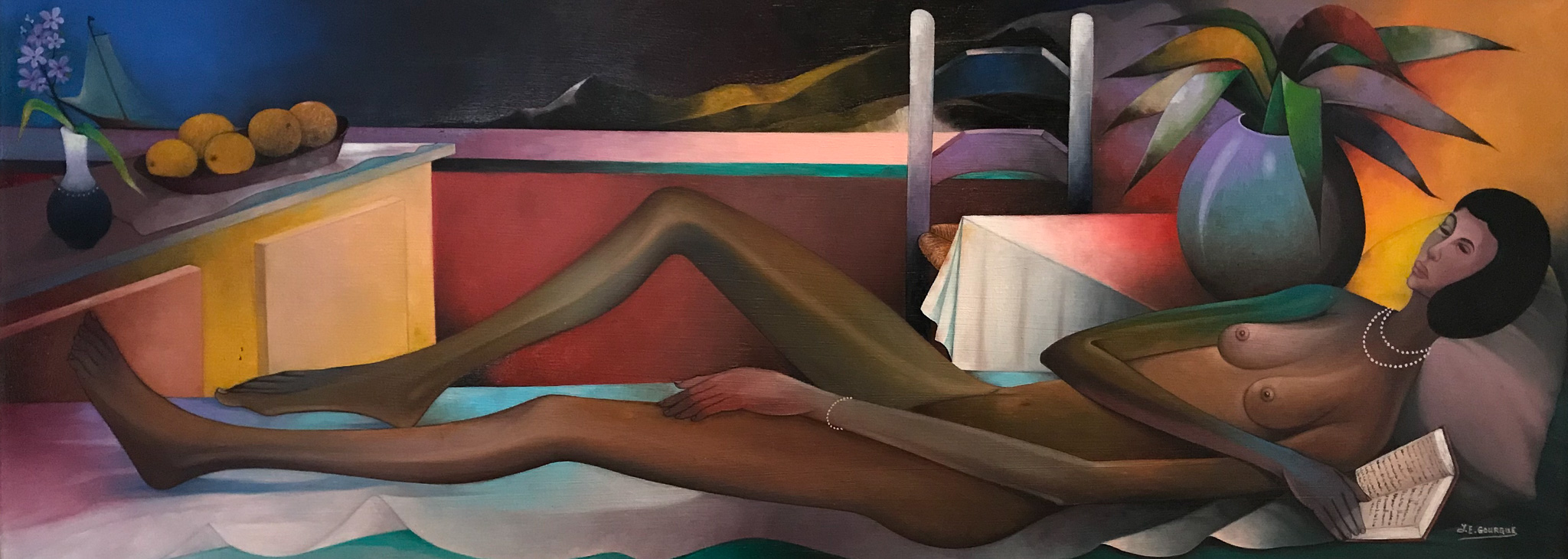 Reclining Nude, 1990