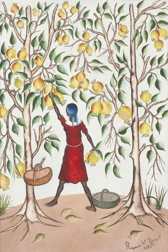 Gathering Pomegranates, 1973