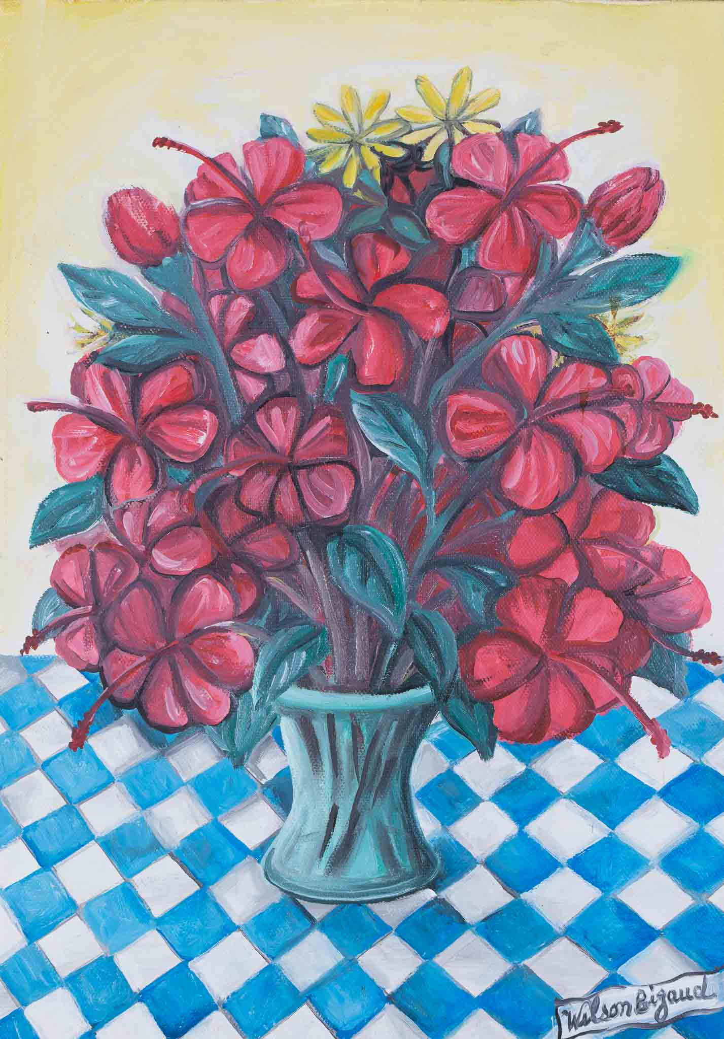 Still Life with Hibiscus, 1993