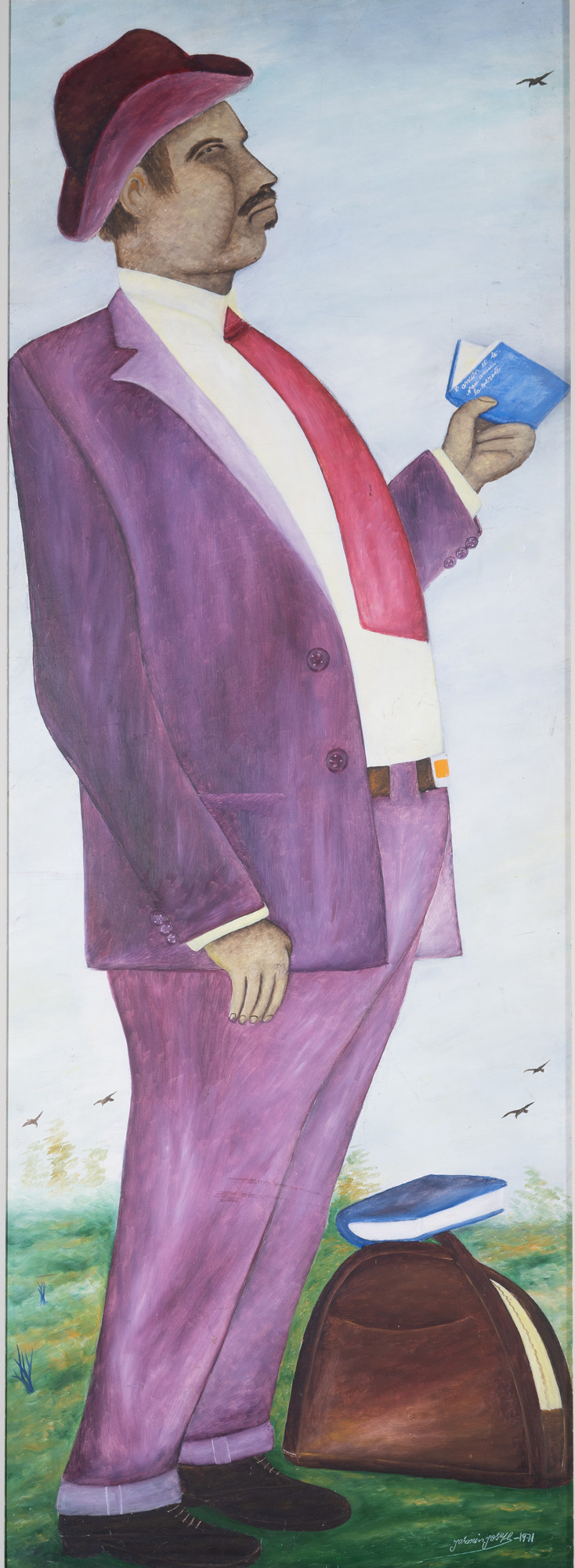 The Poet (Self - Portrait), 1972
